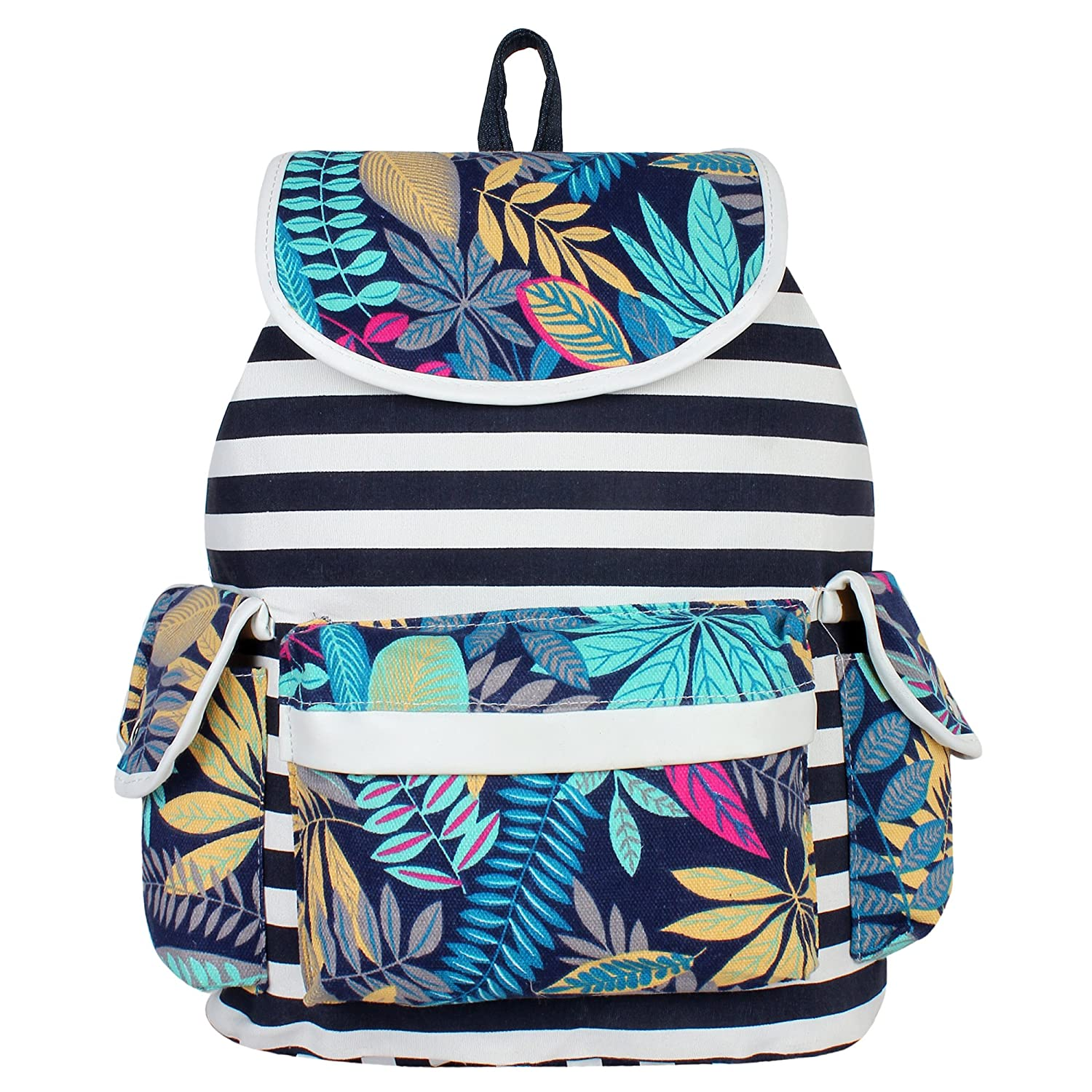 ec6a9615efd8 Buy Atled Multicolor Women s Backpack Online at Low Prices in India -  Amazon.in