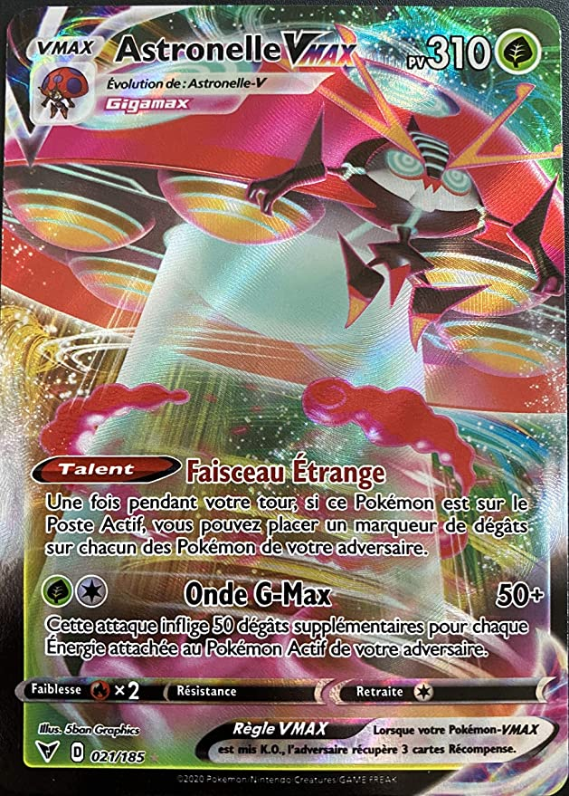 G/én/érique Carte Pokemon Lucario 027//073 Ultra Rare V Ep/ée et Bouclier 3,5 EB3.5 FR Neuf