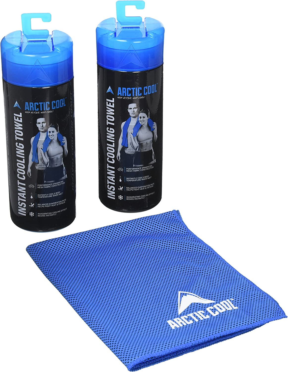 Arctic Cool Instant Cooling Towel Boxed 2-Pack