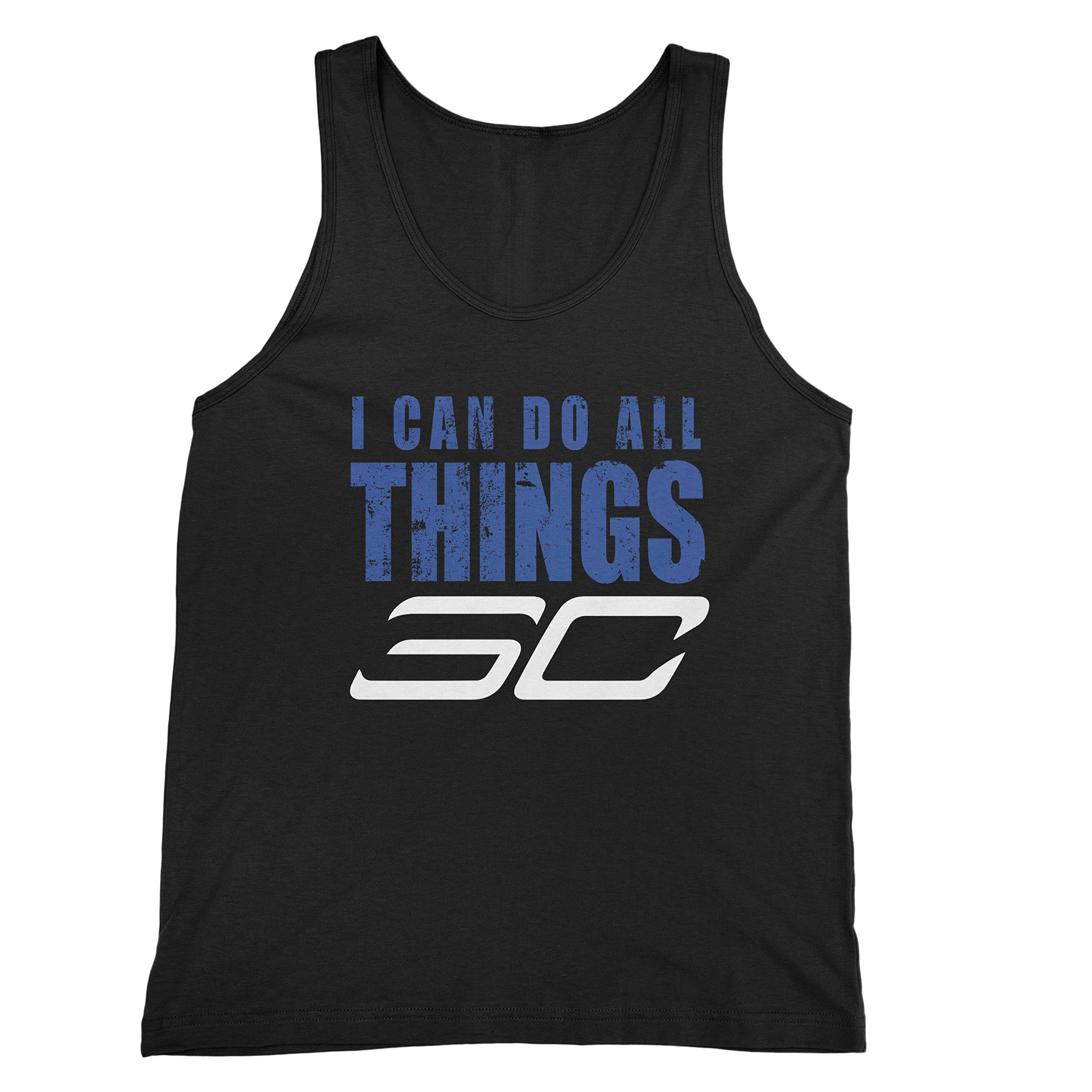 Black I Can Do All Things 30 Golden State Steph S Tank Top Shirts