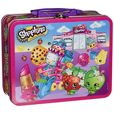 Pressman Toys Shopkins Assortment in Lunch Box Puzzle (100 Piece): Toys & Games