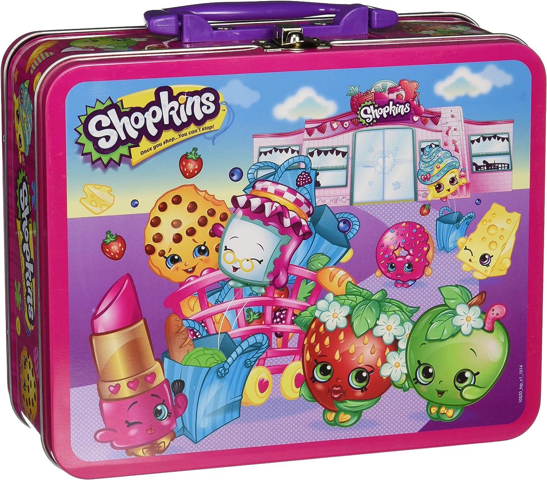 100 Piece Pressman Toys Shopkins Assortment in Lunch Box Puzzle