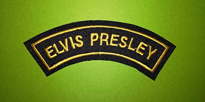 ECUSSON PATCHES AUFNAHER TOPPA THERMOCOLLANT ELVIS PRESLEY
