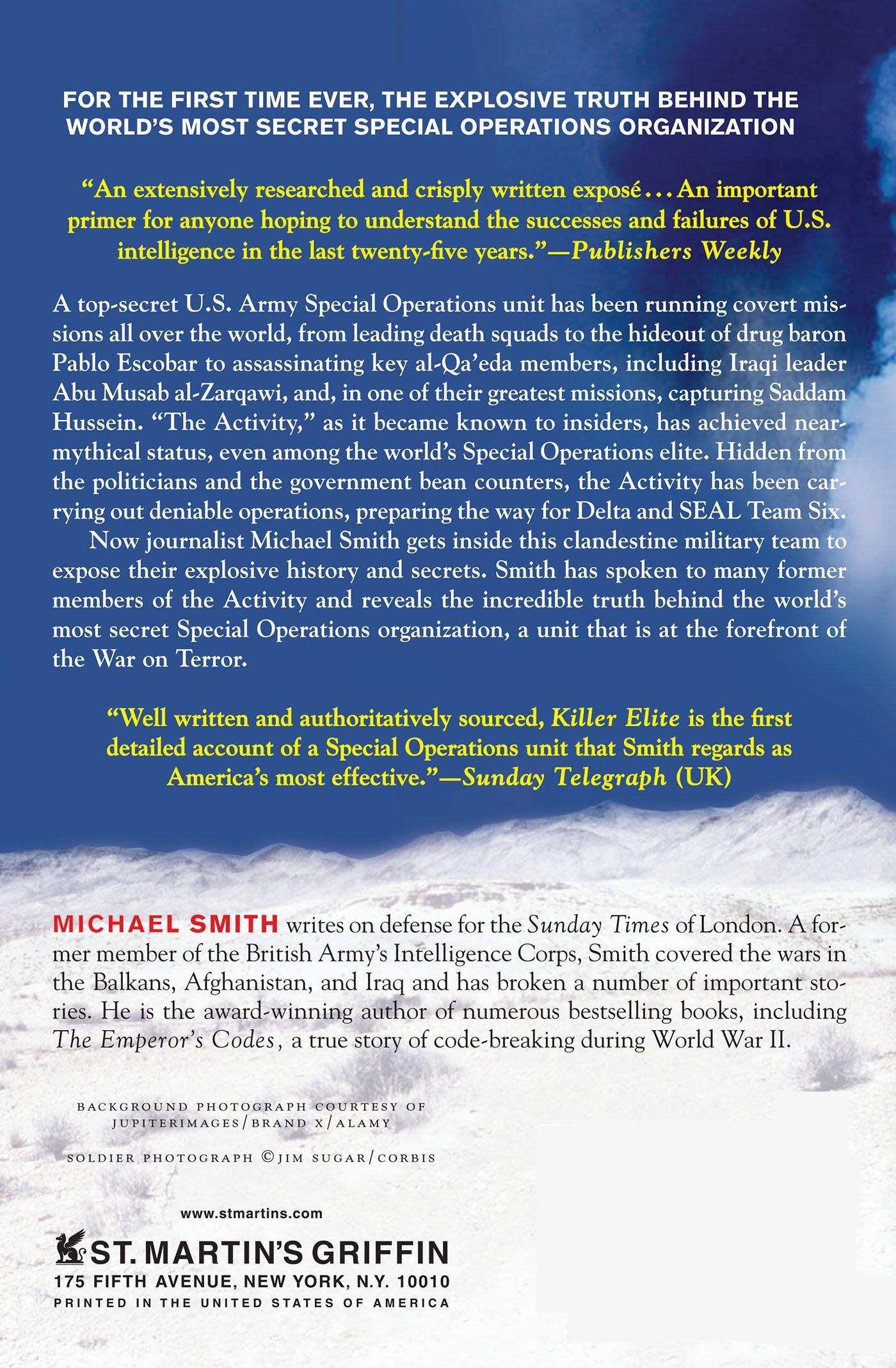 Killer Elite Michael Smith Ebook