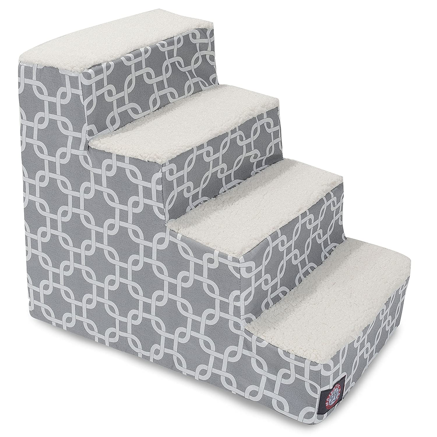 Outlet Majestic Pet Black Links Pet Stairs