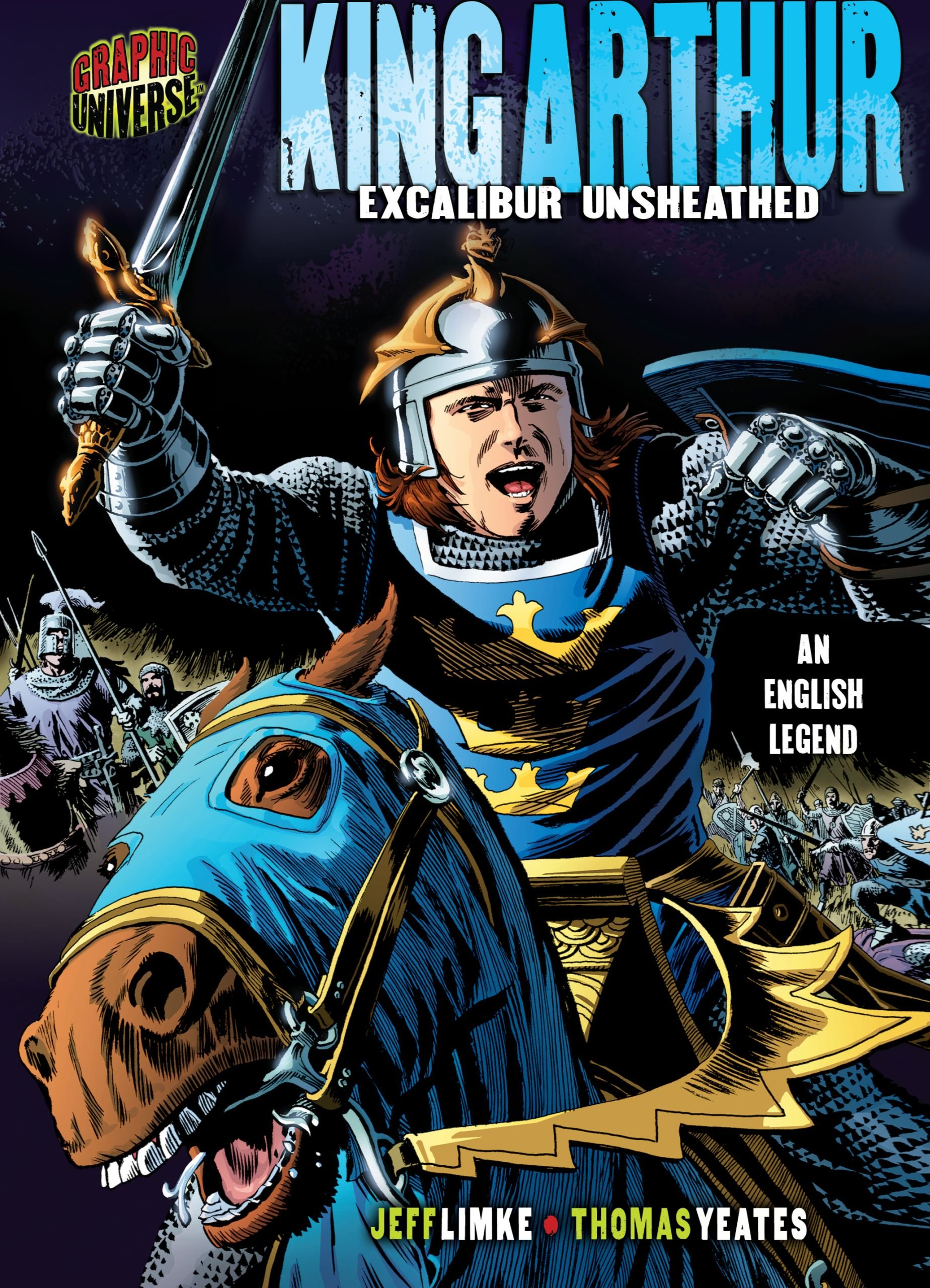 Download King Arthur: Excalibur Unsheathed: an English Legend (Graphic Myths and Legends) ebook