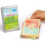 33 traumhafte Meilensteine Baby Cards für das 1. Lebensjahr - Monats-/Wochen-Karten, perfekt als Geschenk zur Geburt