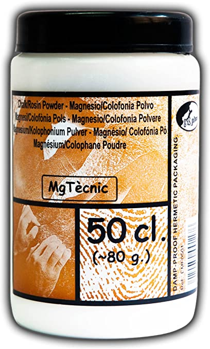 8cplus EMF0501 Magnesio colofonia en Polvo, Blanco, Talla ...