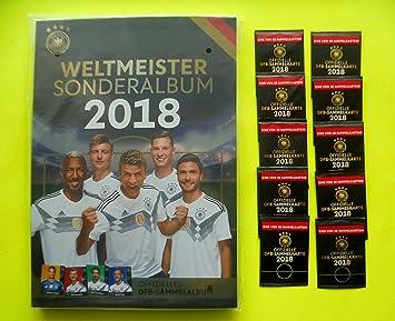 dfb Rewe WM 2018 Rusia Cartas coleccionables álbum + 10 ...