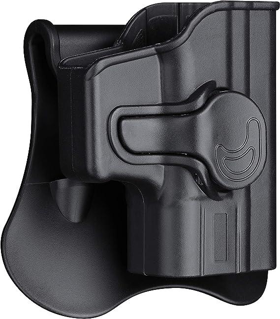 "HIP GUN Holster KAHR BABY EAGLE III 4.43/"" BRL 40 SPRINGFIELD XD-M45 OSP 6"