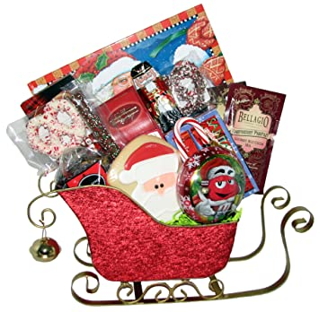 Christmas food gift baskets free shipping