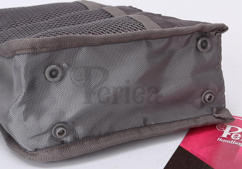 Grau Periea Chelsy 13 F/ächer - ITAJNB18GRE-SM grau 28 Farben Taschen-Organizer