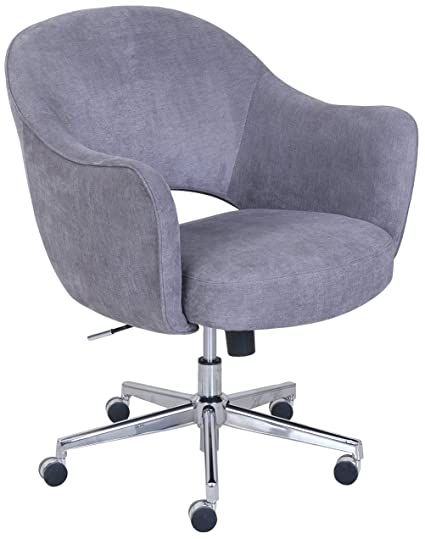 F Serta Valetta Dovetail Gray Home Office Chair