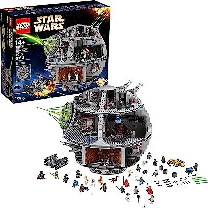 LEGO Figurine Display Case Frame Star Wars Death Star minifigs