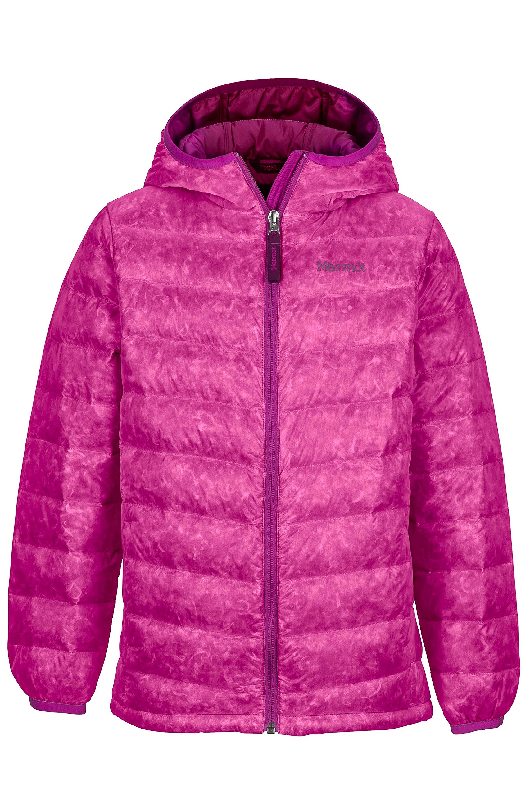 Marmot Girls' Nika Down Puffer Jacket, Fill Power 550, Purple Orchid, Small by Marmot