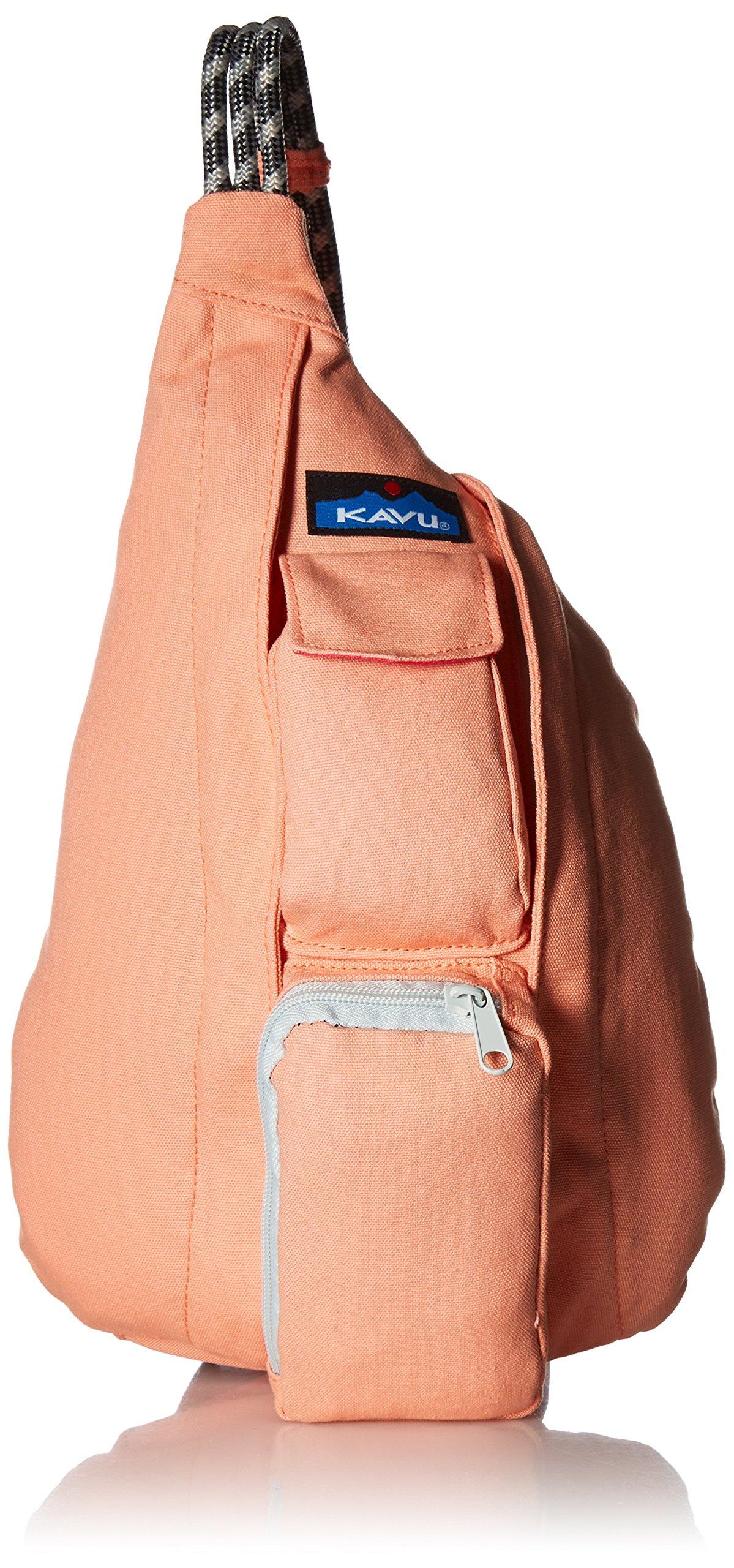 KAVU Mini Rope Bag, Coral, One Size
