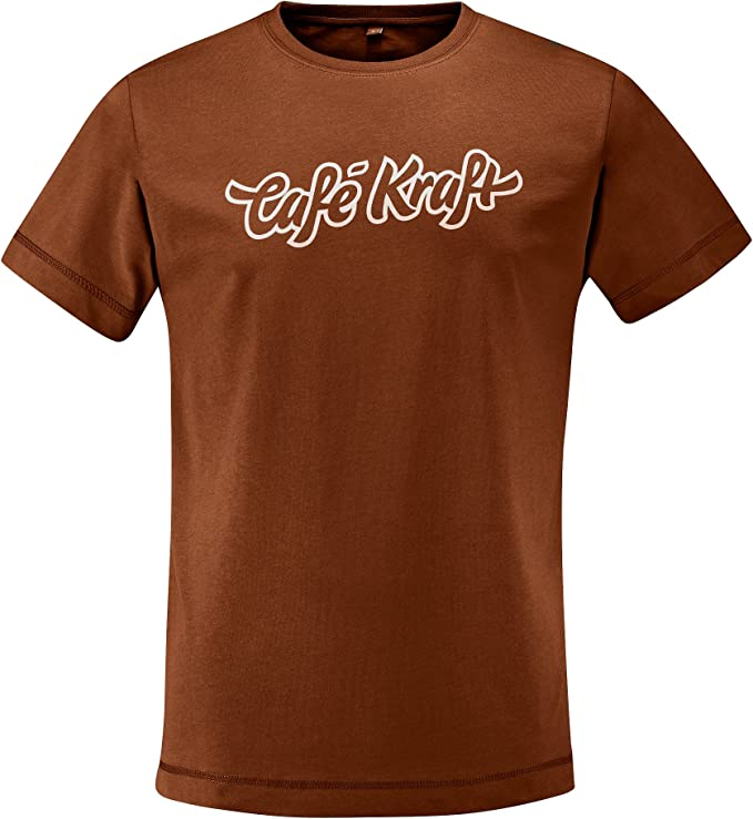 Caf/é Kraft Herren Classic T-Shirt