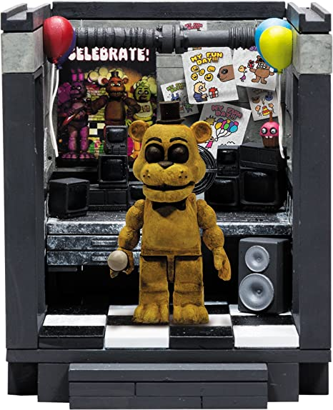 McFarlane Toys Five Nights At FreddyS The Office Classic Series Small Construction Set: Amazon.es: Juguetes y juegos