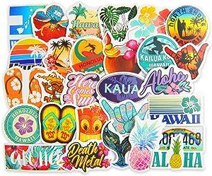 TOPCOMWW 50pcs Cute Stickers for Adult Teens Kids, Waterproof Vinyl Stickers for Laptop Water Bottle Skateboard