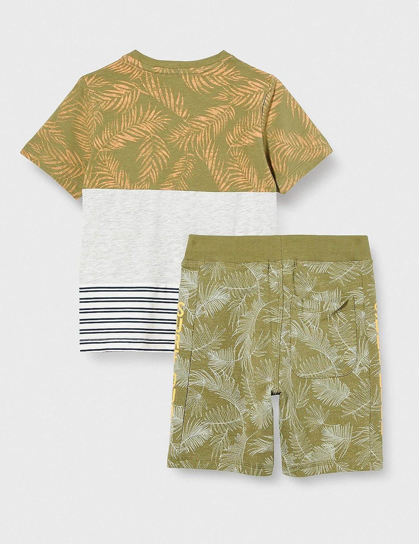 NAME IT Nmmjazzoki Shorts Set Juego de Pantalones Cortos para Ni/ños