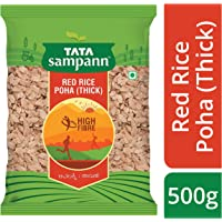 Tata Sampann Thick Red Rice Poha Aval Avalakki, 500g