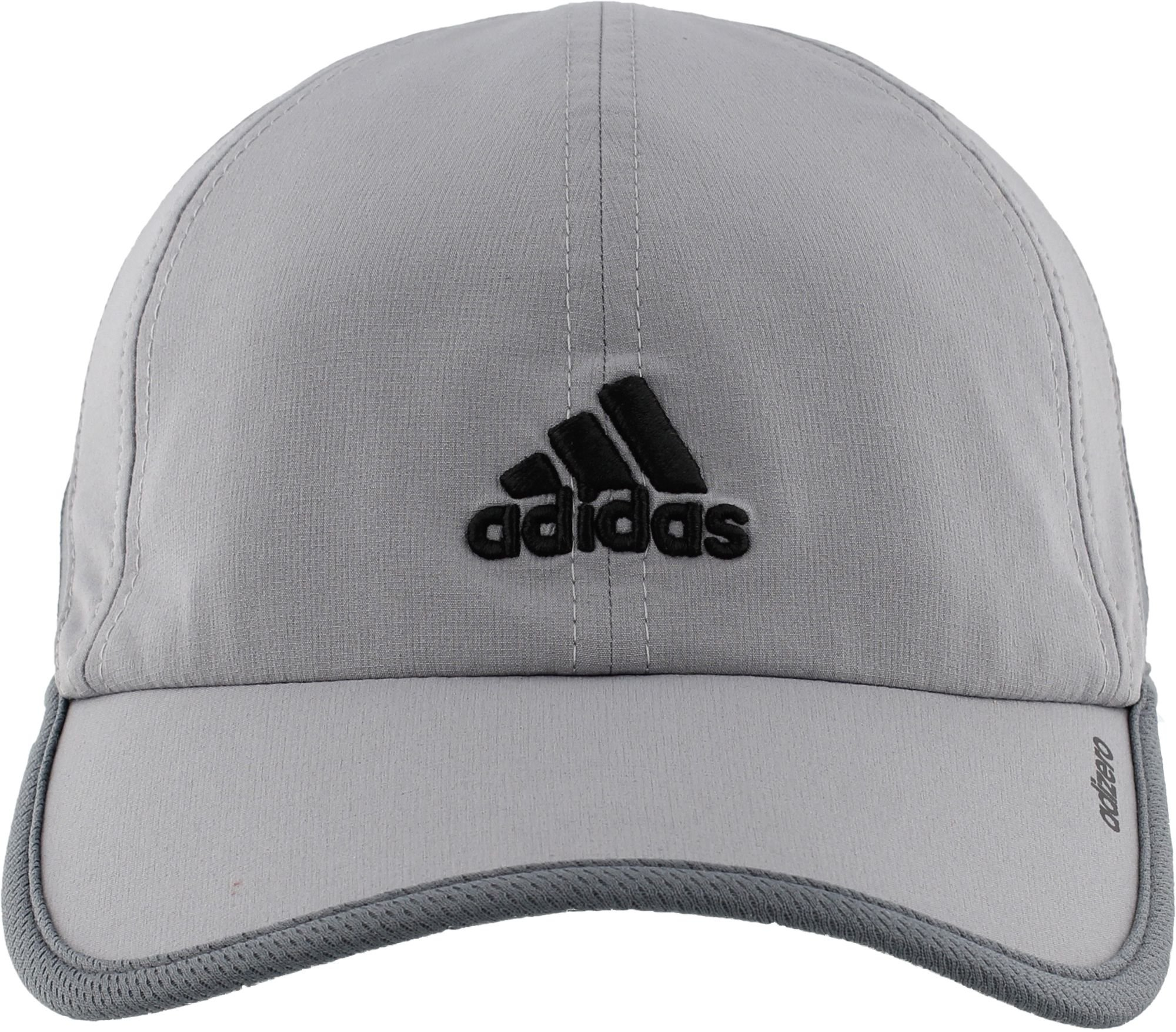 f06a43e607bad adidas Men s Adizero Cap (Grey Black) - O0057DCKUS716106827631   Baseball  Caps   Clothing
