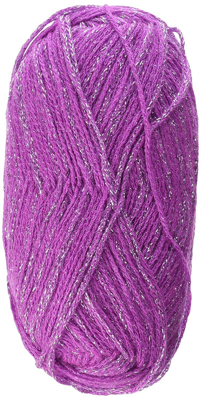 Spinrite Glam Stripes Yarn, Orchid by Spinrite B00K58QIQC