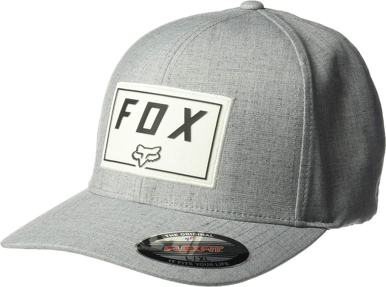 Fox Gorras Trace Steel Grey Flexfit: Amazon.es: Ropa y accesorios