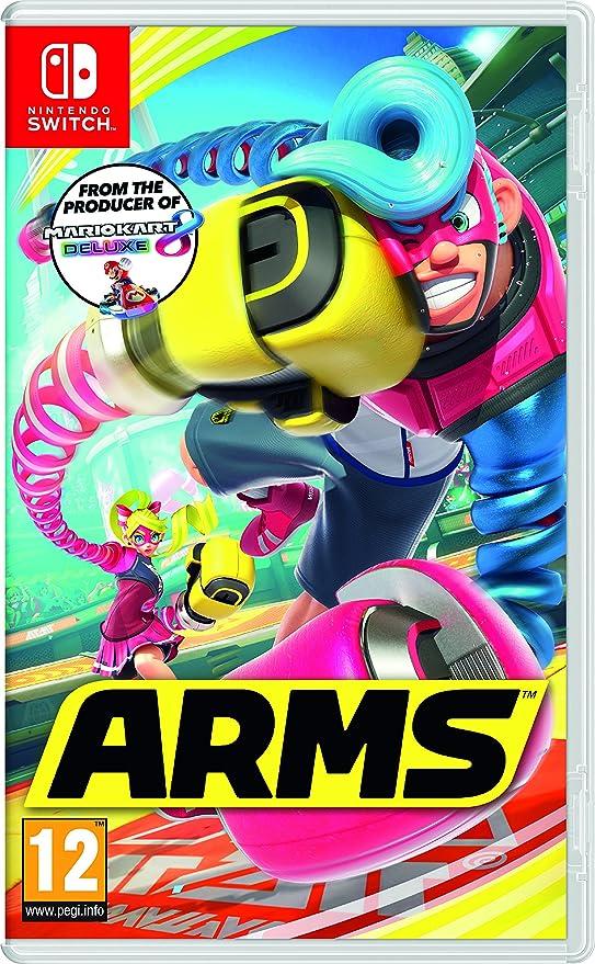 6 opinioni per ARMS- Nintendo Switch [Edizione: Regno Unito]