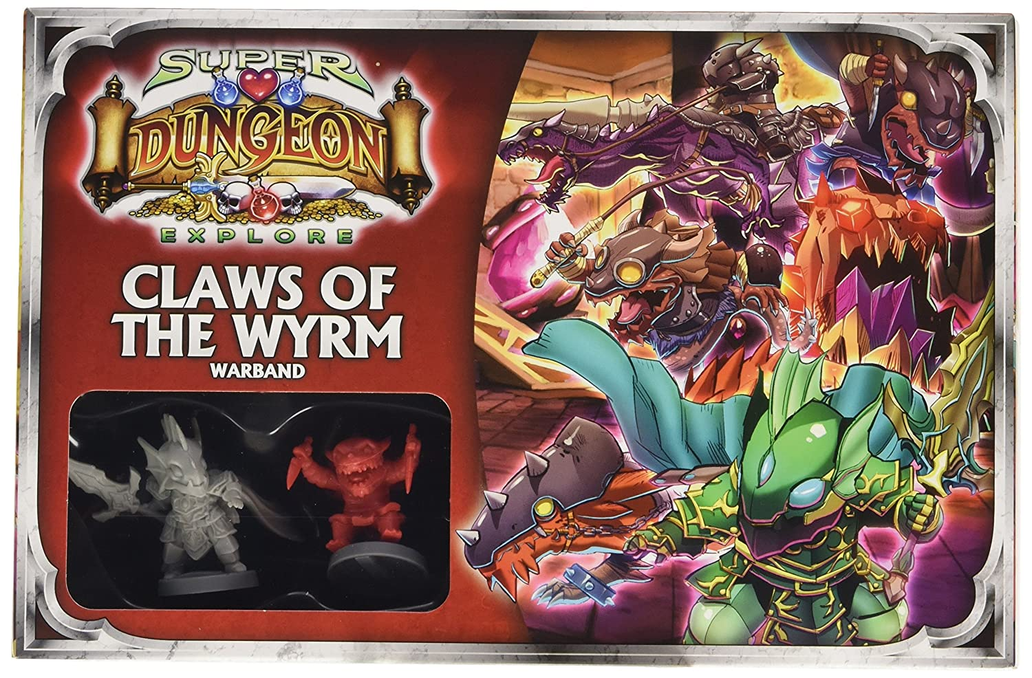 Claws of The Wyrm Warband Game by Ninja Division: Amazon.es ...