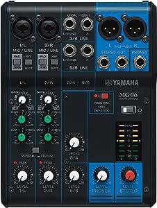 Yamaha MG - Consola mezcladora de canales: Amazon.es: Instrumentos ...