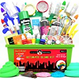 Original Stationery Ultimate Slime Kit DIY Slime Making Kit with Slime Add Ins Stuff for Unicorn, Glitter, Cloud, Butter, Flo
