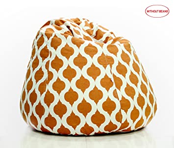 Remarkable Story Home Xxl Bean Bag Without Beans Rust Brown Ibusinesslaw Wood Chair Design Ideas Ibusinesslaworg