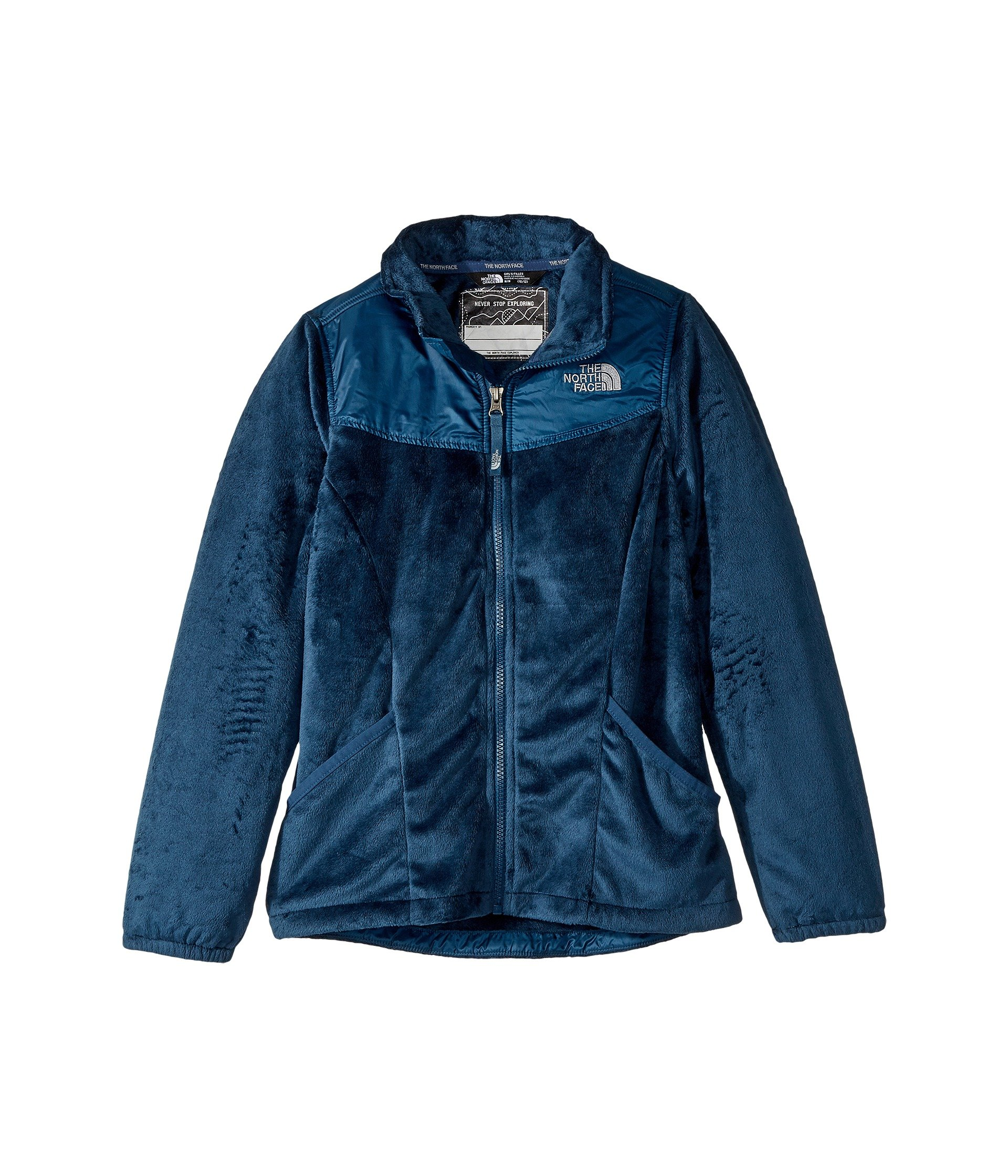 The North Face Girl's Osolita 2.0 Jacket Blue Wing Teal - M