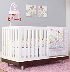 Just Born Crib Bedding Set, Botanica