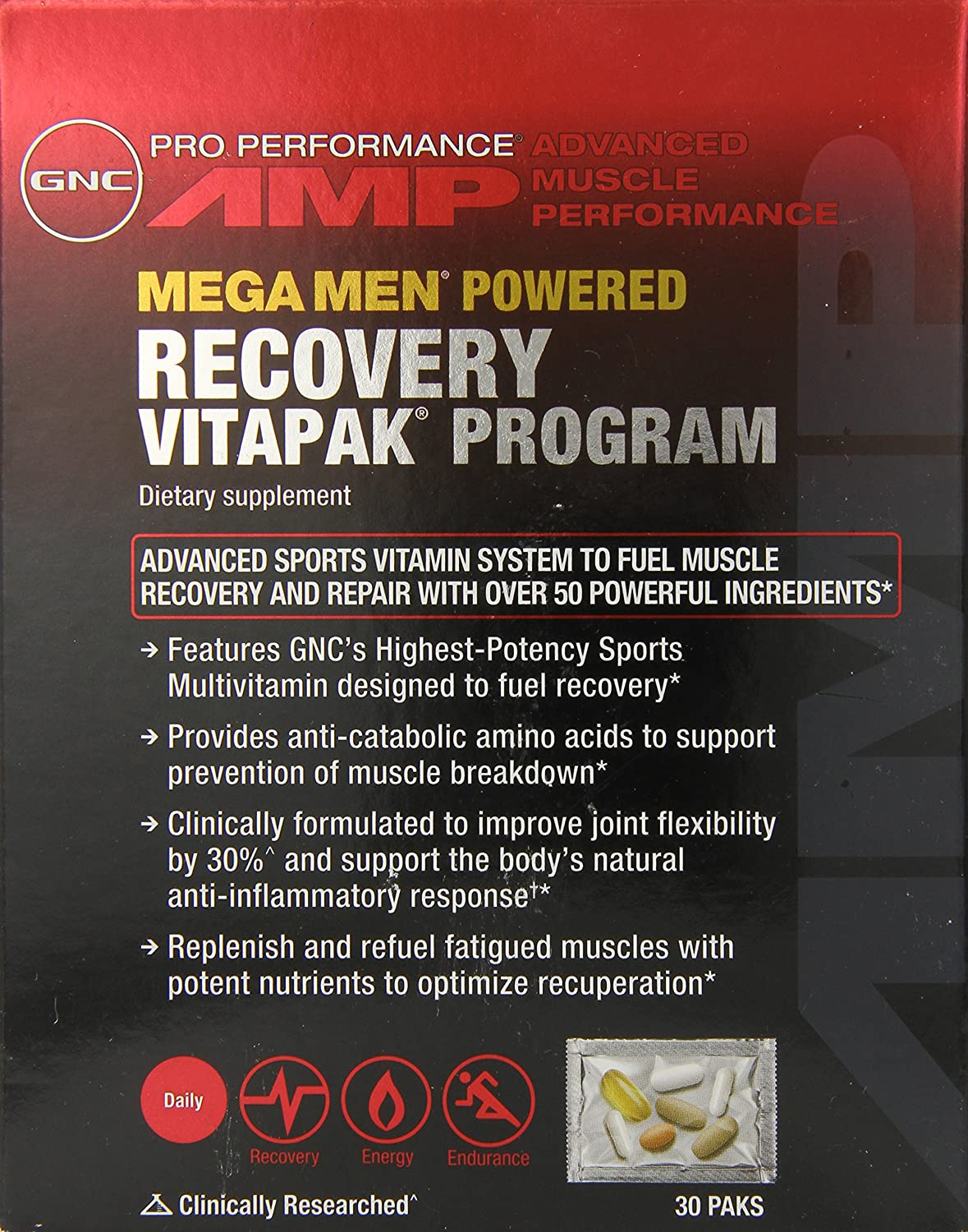 Gen x labs sports amp fitness performance kit 11 week program 4 - Amazon Com Gnc Pro Performance Amp Recovery Vitapak Program Capsules 30 Count Health Personal Care