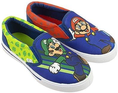 0ca862c74513a9 Super Mario Brothers Mario   Luigi Boys Shoes