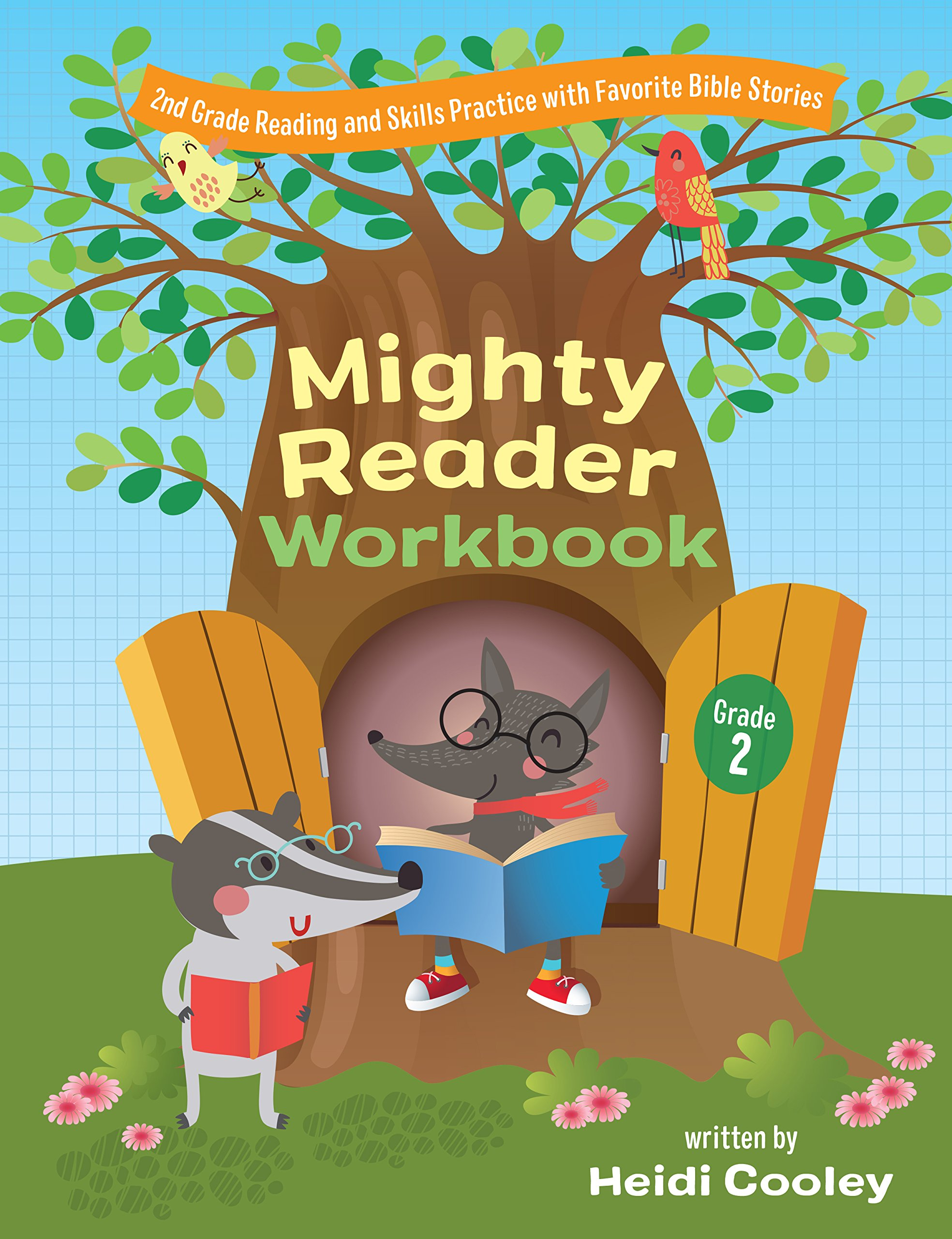 Download Mighty Reader Workbook, Grade 2: 2nd Grade Reading and Skills Practice with Favorite Bible Stories pdf epub
