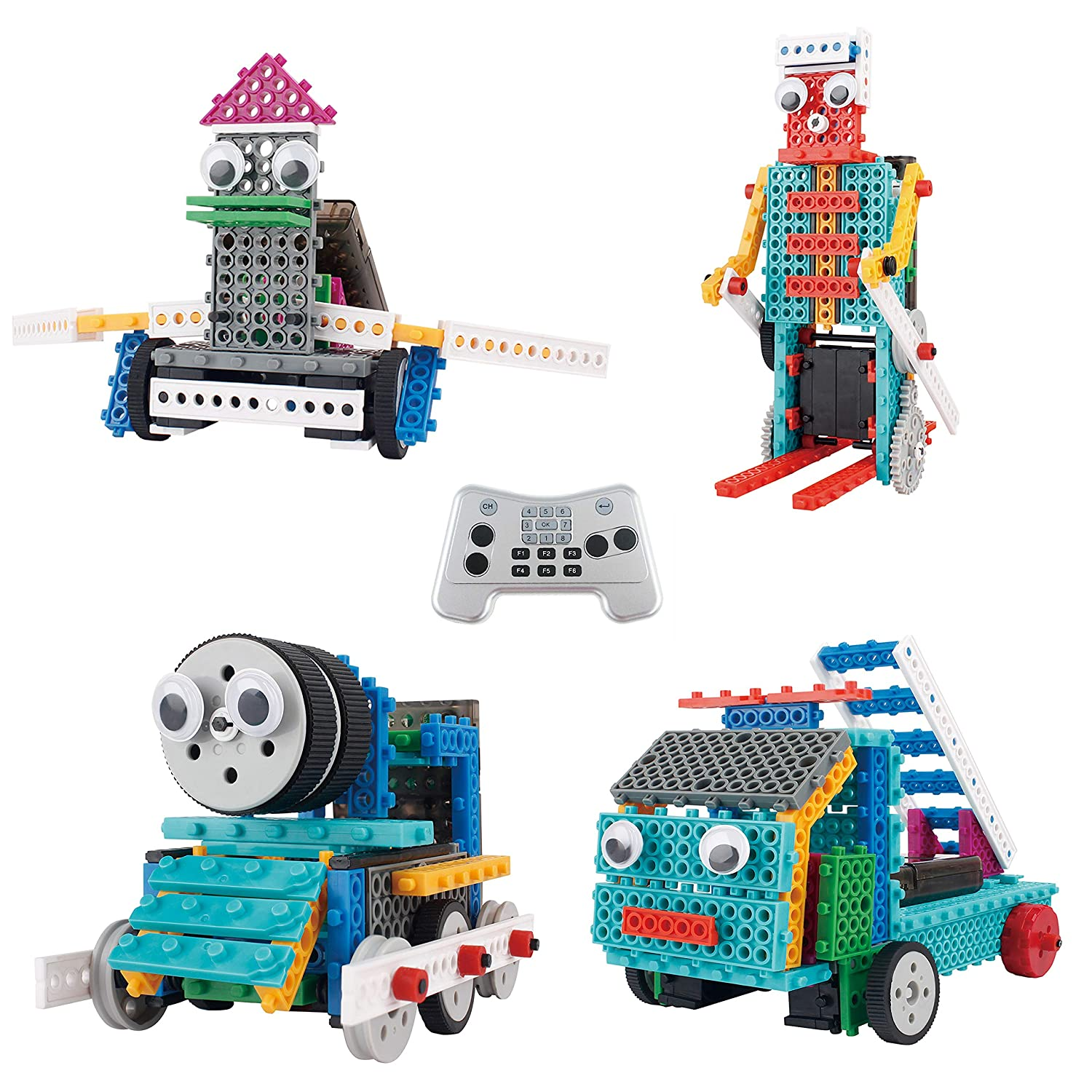 [Thinkgizmos]Thinkgizmos Robot Kit For Kids Ingenious Machines Build Your Own Remote Control Robot Toy Awesome Fun [並行輸入品]   B01ANWSYE8