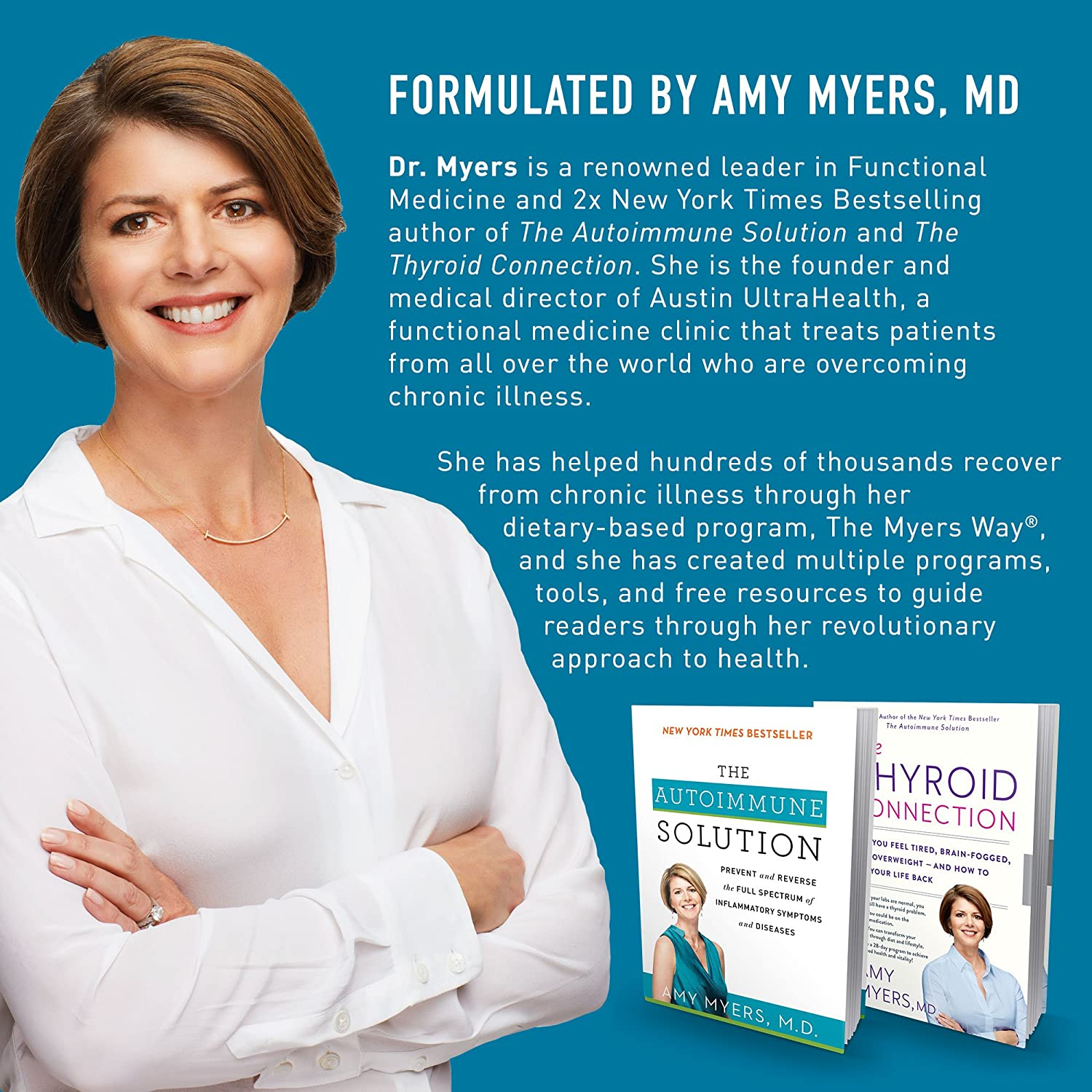 Dr. Amy Myers Digestive Enzymes – 19 Enzymes to Support IBS, Leaky Gut, Bloating, Constipation,...