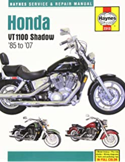 honda shadow 1100 85 98 haynes repair manuals john haynes honda vt1100 shadow 85 to 07 haynes service repair manual