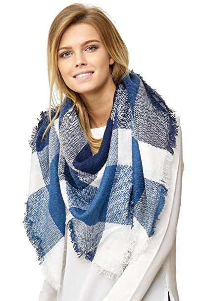neueste kaufen Wählen Sie für echte Brauch JillyMode XXL Damen Schal Winter Dick Warm und weich viele schöne Mustern