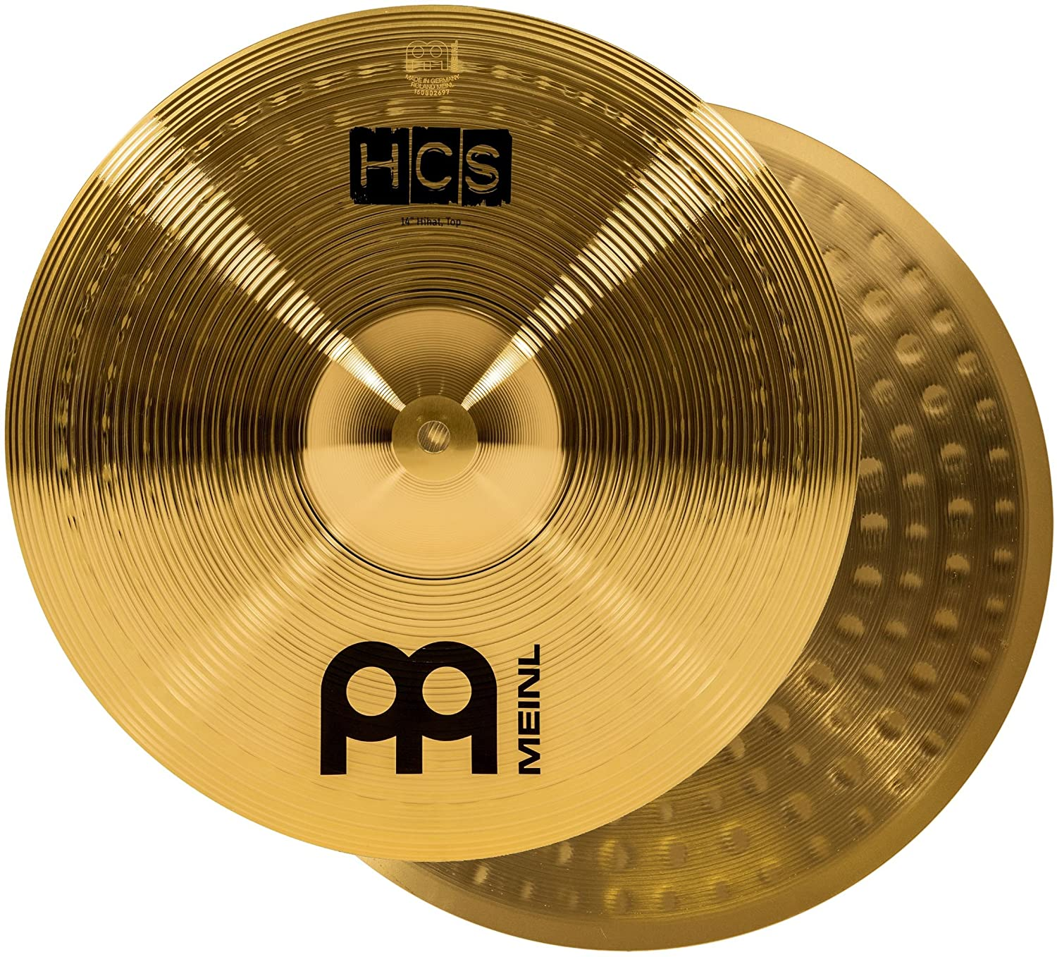 Meinl Cymbals HCS13H 13-Inch HCS Traditional Hi Hat Pair
