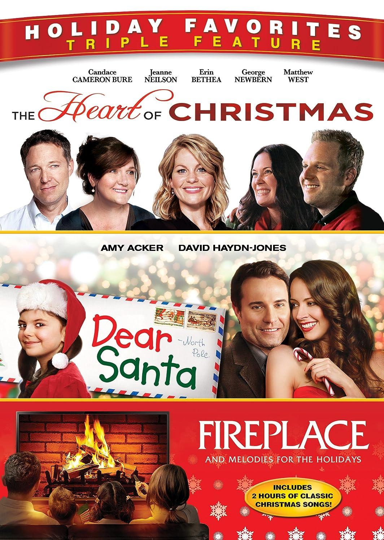 amazon com heart of christmas dear santa fireplace candace