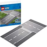 LEGO City Straight and T-Junction Road Plate 60236 Building Toy