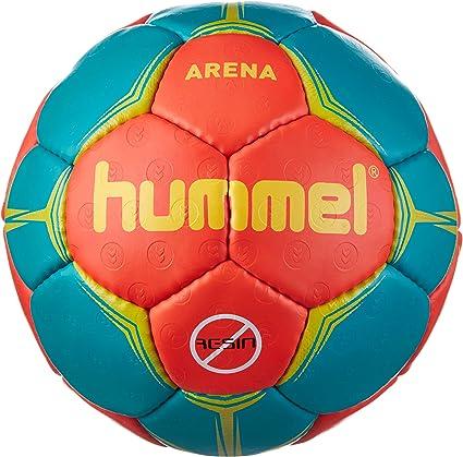 hummel - Balón de Balonmano Unisex Arena, Color Nasturtium ...