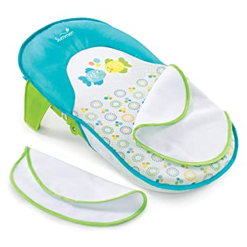 1fb0b65959e Amazon.com   Summer Infant Bath Sling with Warming Wings   Baby