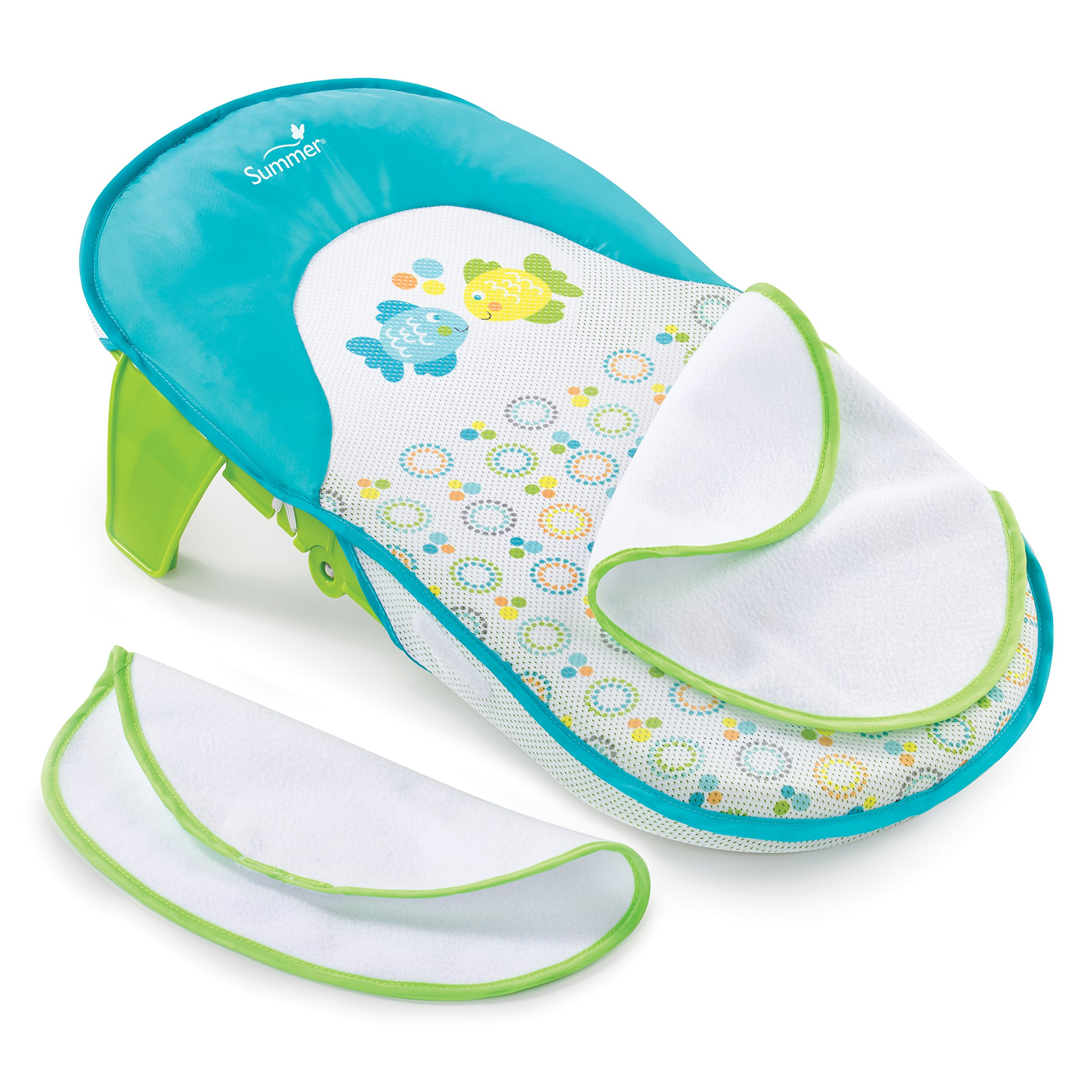 Infant Newborn To Toddler Tub W Sling Baby Bath Seat Girl Shower ...