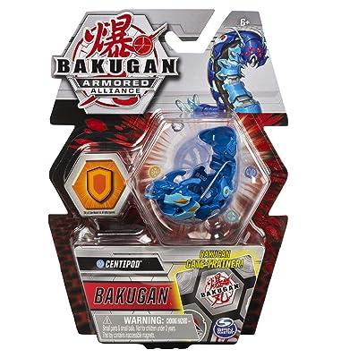 Bakugan Armored Alliance Core 2-inch Collectible Transforming Figure Centipod (Aquos Faction): Toys & Games