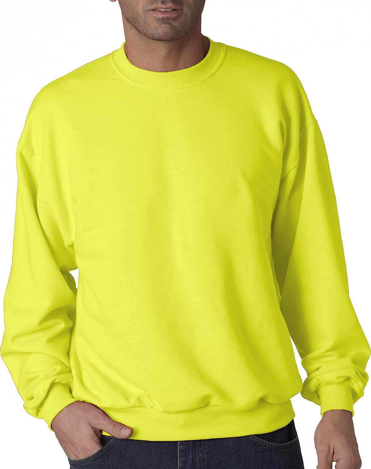 Jerzees Men's Crew Neck Sweatshirt Jerzees 562